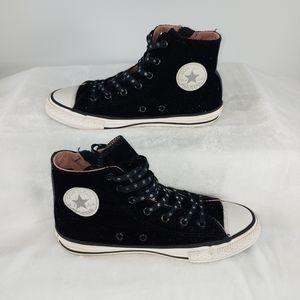 Converse All Star, Glitter, Black, Zipper
